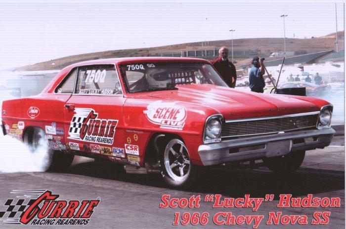 2008 NHRA Sportsman Handout Scott Hudson