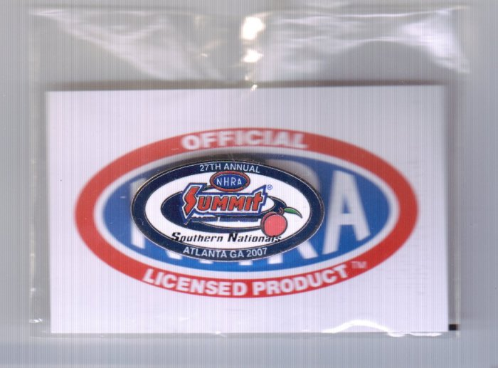 2007 NHRA Event Pin Atlanta