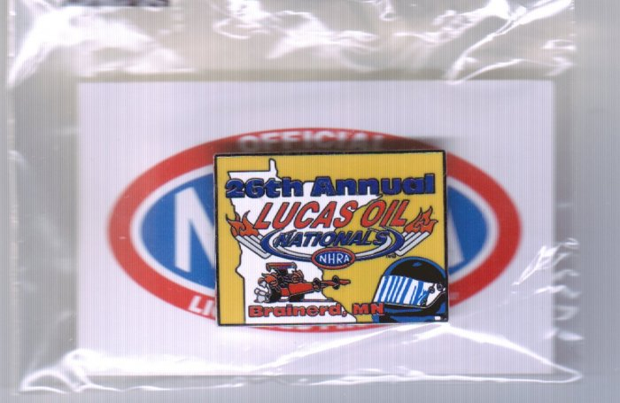 2007 NHRA Event Pin Brainerd