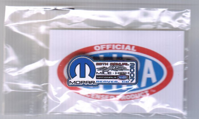 2007 NHRA Event Pin Denver Free Shipping