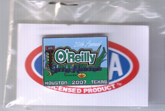 2007 NHRA Event Pin Houston