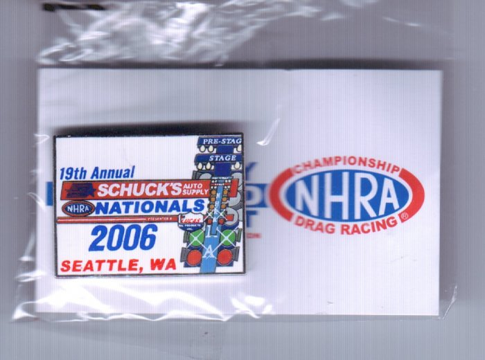 2006 NHRA Event Pin Seattle