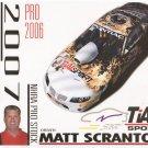 2007 NHRA PS Handout Matt Scranton