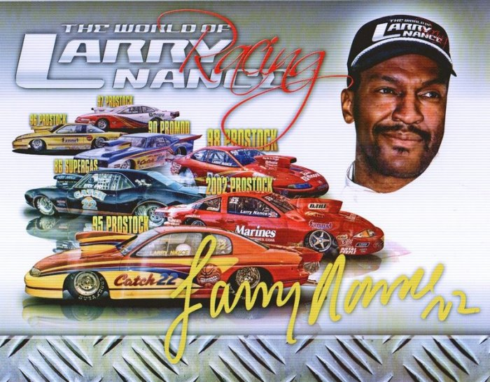 2007 NHRA PS Handout Larry Nance