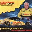 2007 NHRA PS Handout Warren Johnson