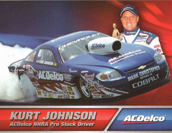 2007 NHRA PS Handout Kurt Johnson