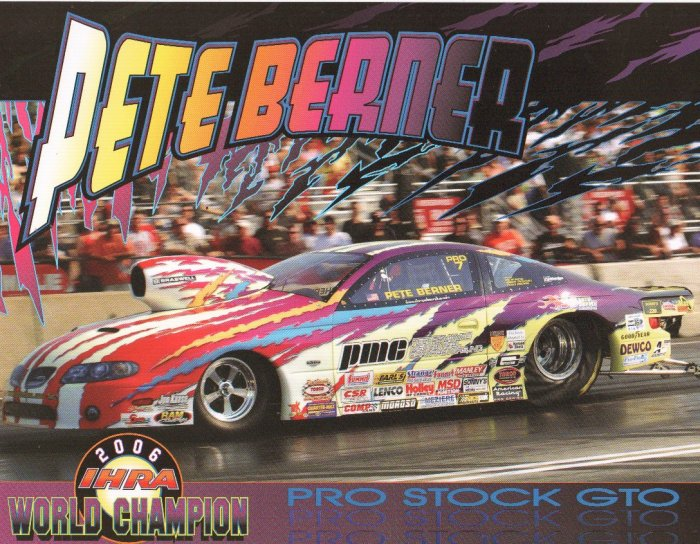 2007 NHRA PS Handout Pete Berner