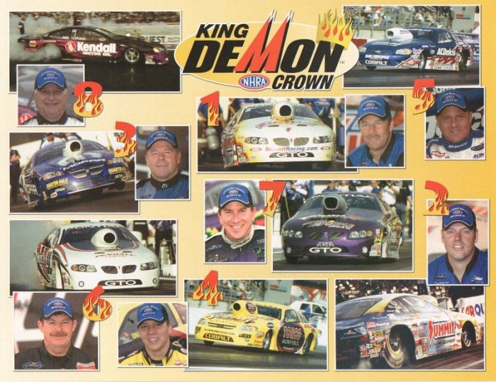 2007 NHRA PS Handout King Demon Shootout