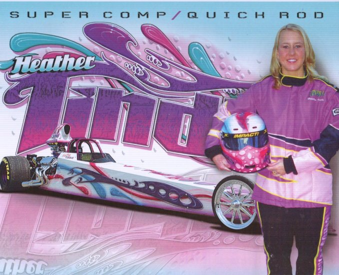 2008 NHRA Sportsman Handout Heather Tindle wm