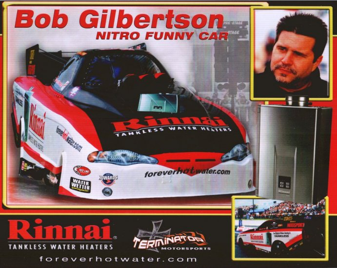 2008 NHRA FC Handout Bob Gilbertson (version #2)