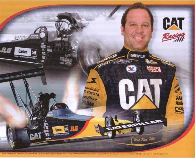 2008 NHRA TF Handout Hot Rod Fuller (Richmond-Carter Caterpillar)