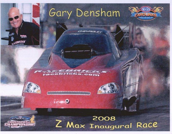 2008 NHRA FC Handout Gary Densham