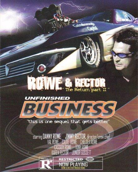 2007 NHRA PM Handout Danny Rowe