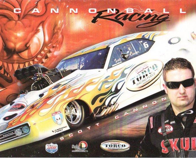 2007 NHRA PM Handout Scott Cannon