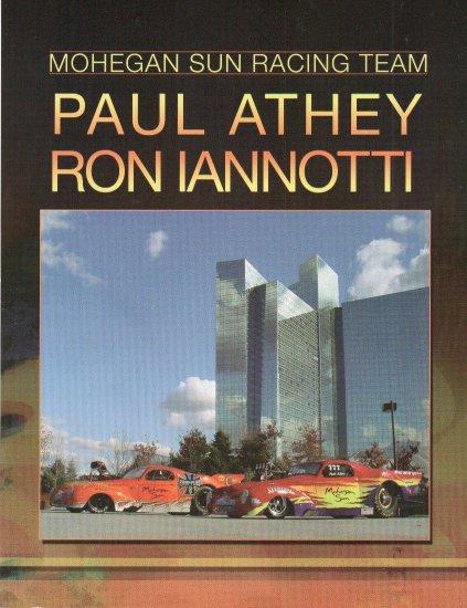 2007 NHRA PM Handout Ron Ianotti