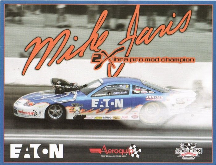 2007 NHRA PM Handout Mike Janis