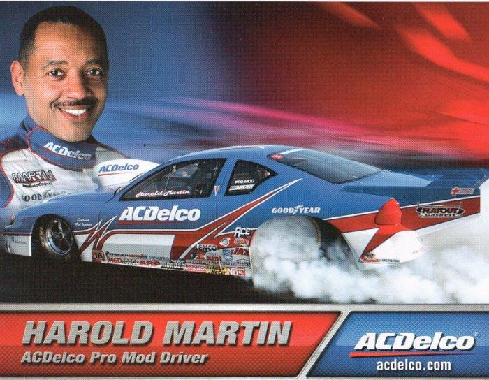 2007 NHRA PM Handout Harold Martin