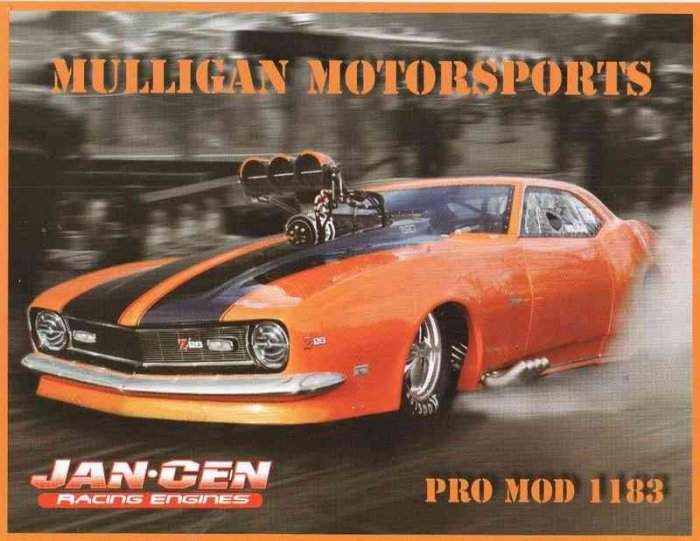 2007 NHRA PM Handout Joe Mulligan
