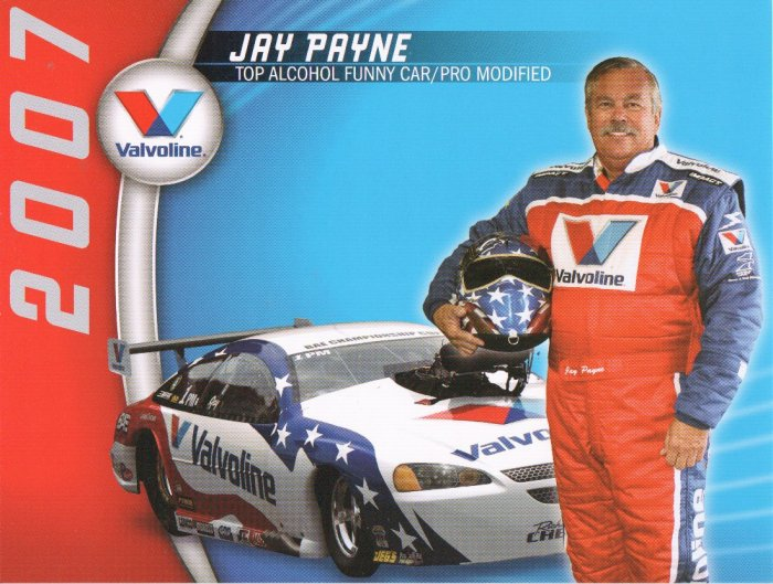 2007 NHRA PM Handout Jay Payne