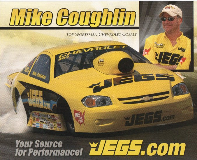 2007 NHRA Sportsman Handout Mike Coughlin
