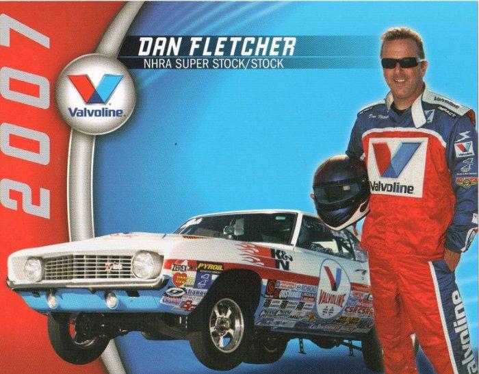 2007 NHRA Sportsman Handout Dan Fletcher SS