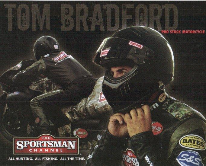2007 NHRA PSB Handout Tom Bradford