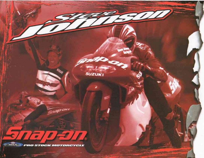 2007 NHRA PSB Handout Steve Johnson