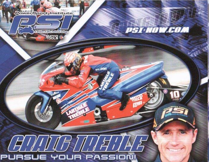 2007 NHRA PSB Handout Craig Treble