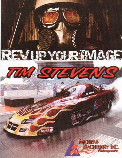 2007 NHRA AFC Handout Tim Stevens