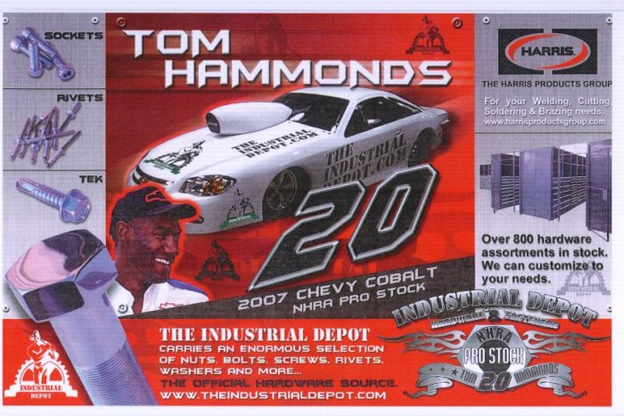 2007 NHRA PS Handout Tom Hammonds (version #4) White margin