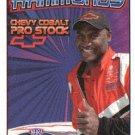 2007 NHRA PS Handout Tom Hammonds (version #5) Trading card