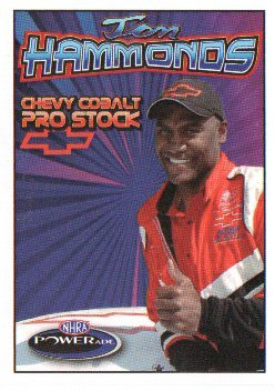 2007 NHRA PS Handout Tom Hammonds (version #5) Trading card