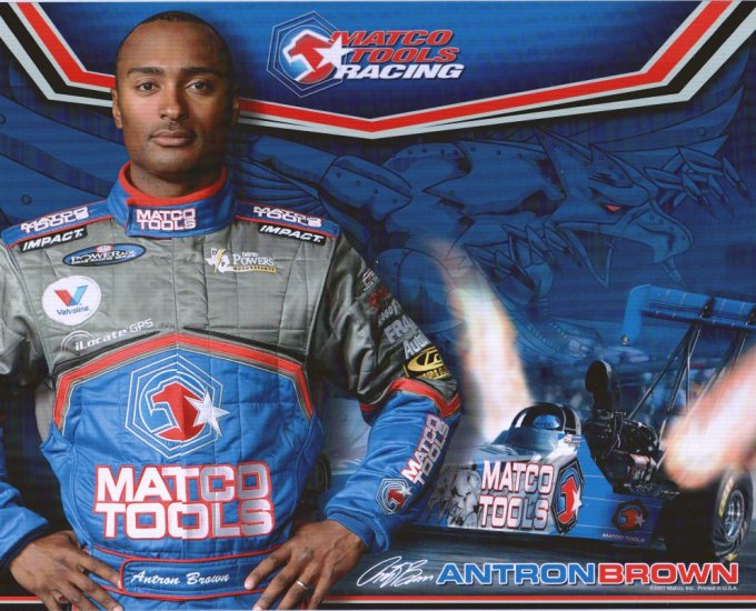 2008 NHRA TF Handout Antron Brown (version #1)