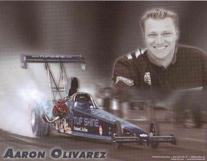 2007 NHRA TAD Handout Aaron Olivarez