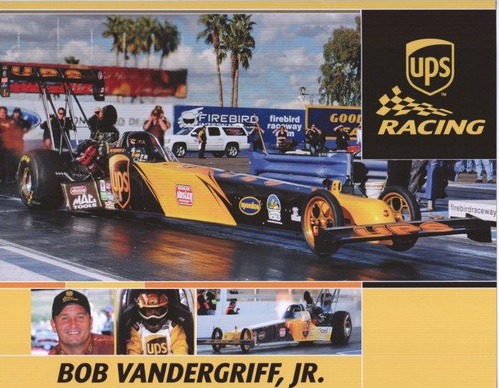 2008 NHRA TF Handout Bob Vandergriff Jr.