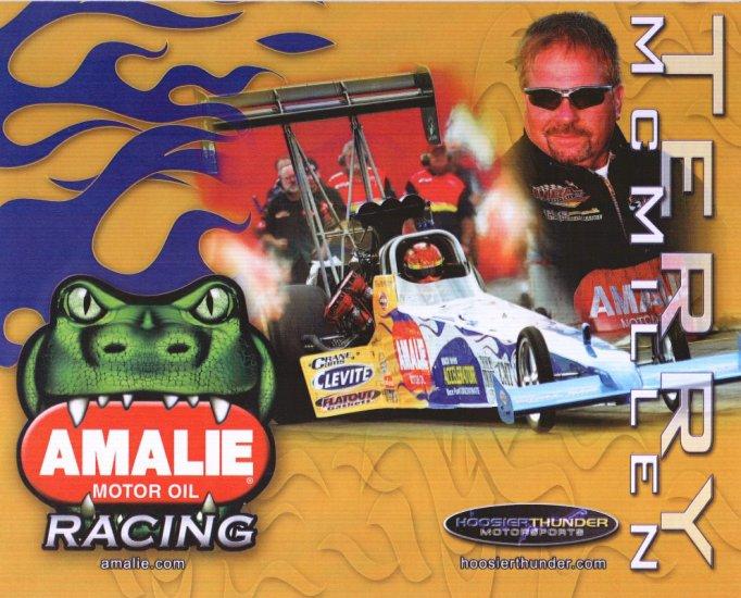 2008 NHRA TF Handout Terry McMillan