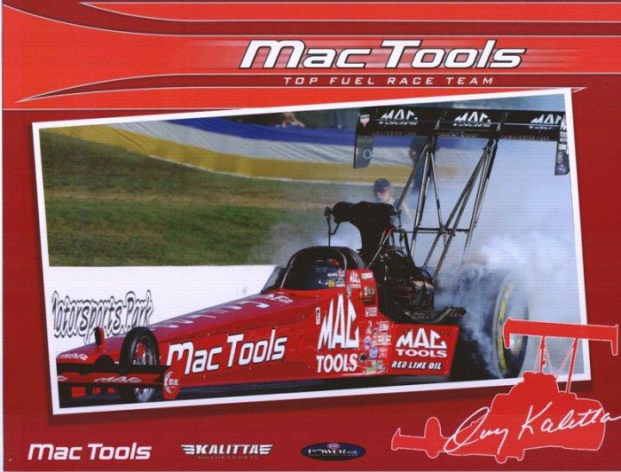 2008 NHRA TF Handout Doug Kalitta