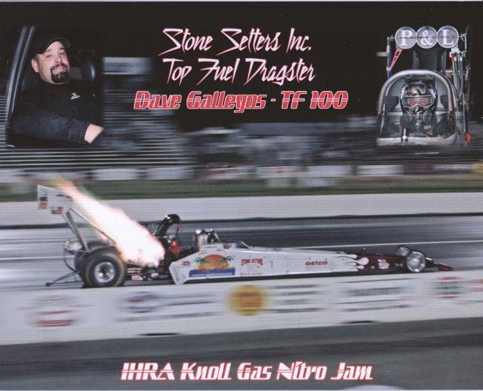 2008 NHRA TF Handout Dave Gallegos