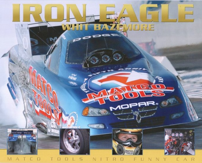 2004 NHRA FC Handout Whit Bazemore