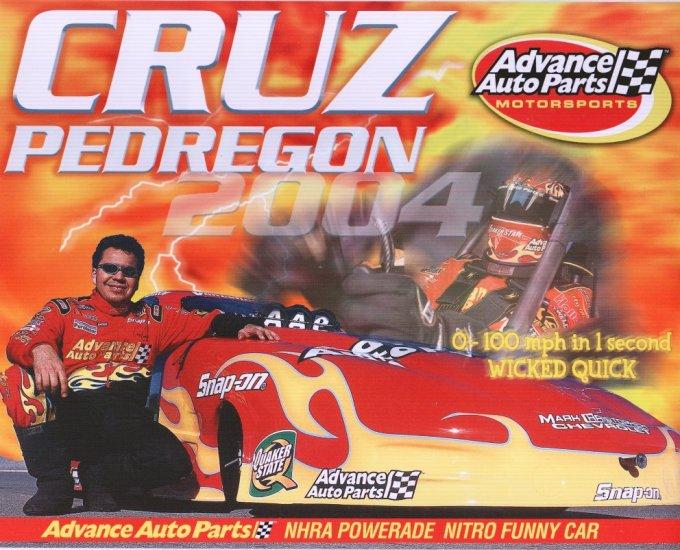 2004 NHRA FC Handout Cruz Pedregon