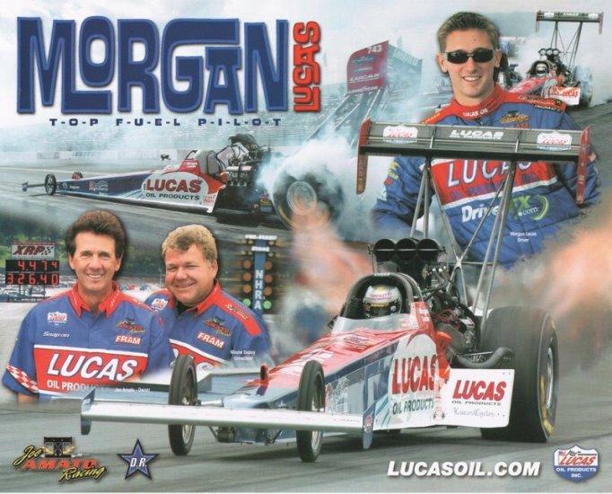 2005 NHRA TF Handout Morgan Lucas