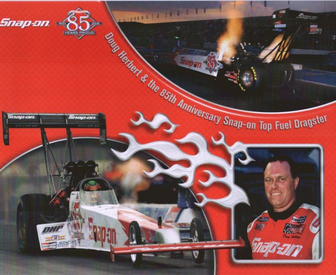 2005 NHRA TF Handout Doug Herbert