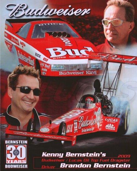 2009 TF Handout Brandon Bernstein