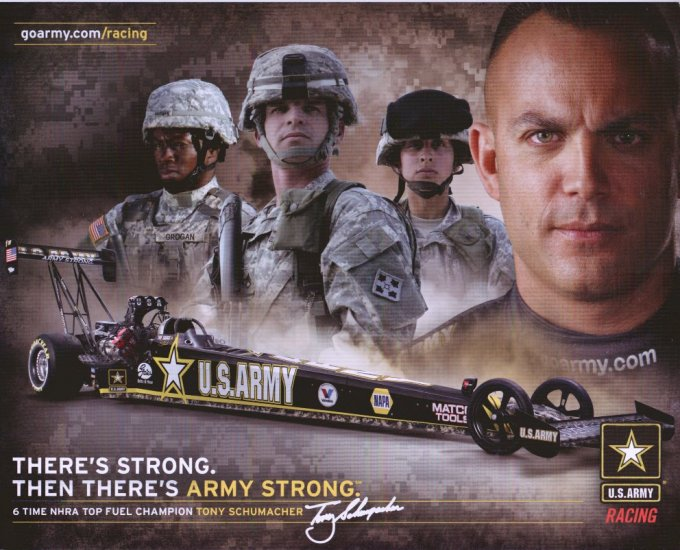 2009 TF Handout Tony Schumacher