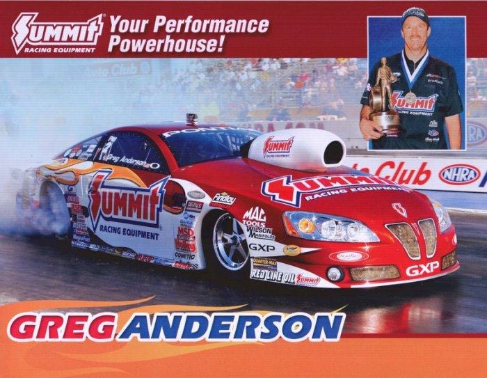 2009 PS Handout Greg Anderson