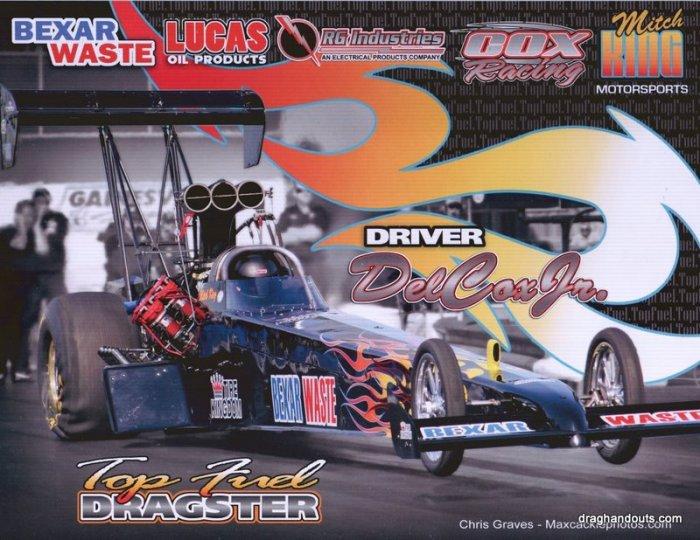 2009 TF Handout Del Cox Jr. (version #1)