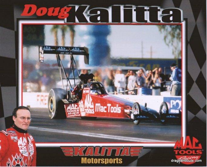 2004 TF Handout Doug Kalitta