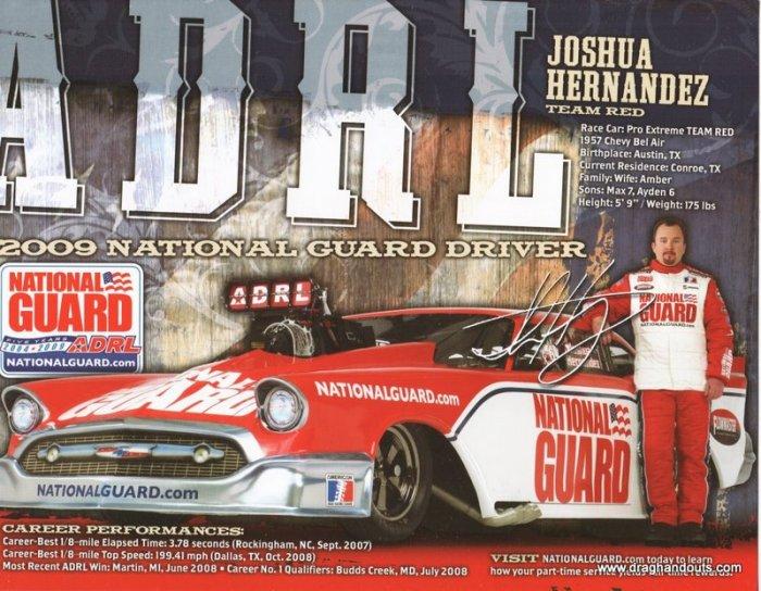 2009 PM Handout Josh Hernandez