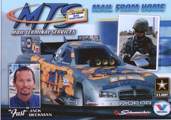 2009 FC Handout Jack Beckman Postcard (version #1)