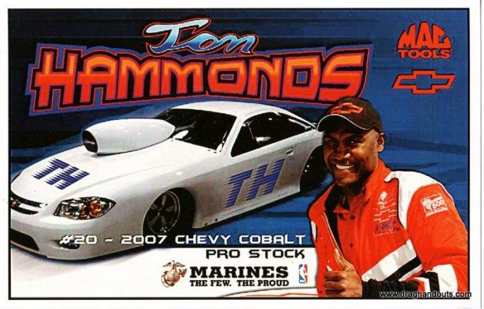 2009 PS Handout Tom Hammonds